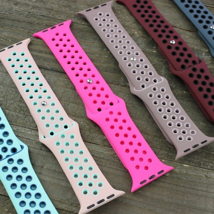 Sports Apple Watch Silicone Band