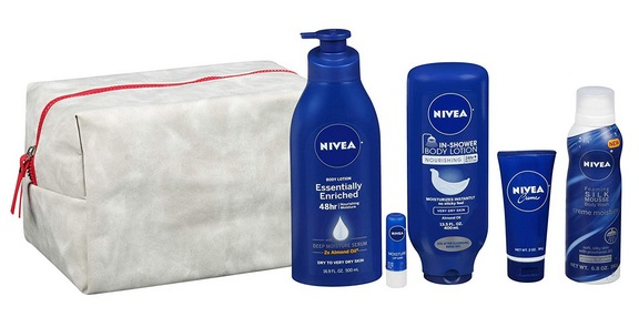 NIVEA Pamper Time Gift Set - 5 Piece Luxury Collection