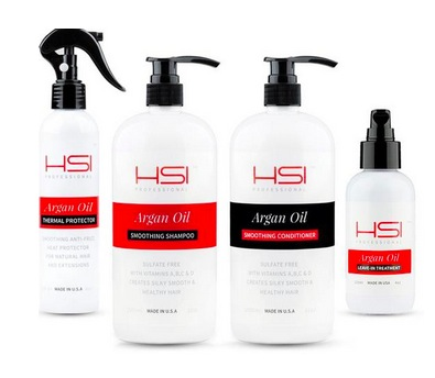 FREE Sample of HSI Professional Argan Oil Haircare