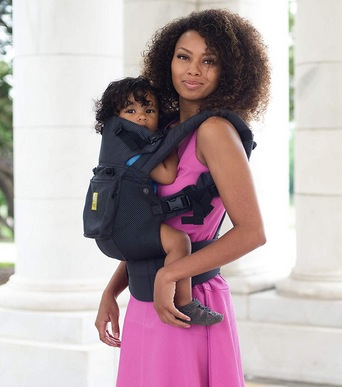 LÍLLÉbaby The Complete Airflow SIX-Position 360° Ergonomic Baby & Child Carrier, Charcoal