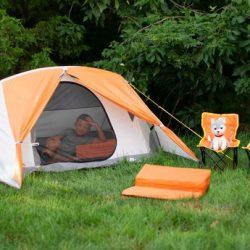 Ozark Trail 3 Person Kids Camping Tent Bundle