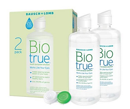 Biotrue Contact Lens Solution