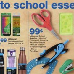 Walgreens Back to School Deals