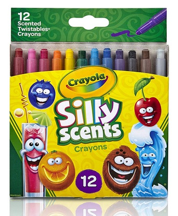 Crayola Silly Scents Twistables Crayons, Sweet Scented Crayons