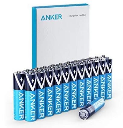 Anker Alkaline AAA Batteries