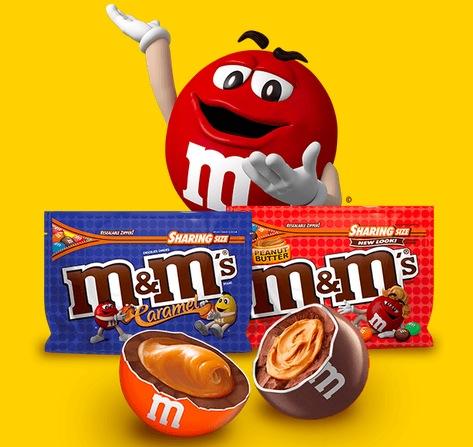 M&M's Caramel + Peanut Butter Instant Win Game (10,200 Winners)