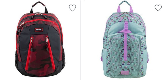 Fuel Kids Backpacks