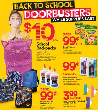Office Max/Office Depot Back to School