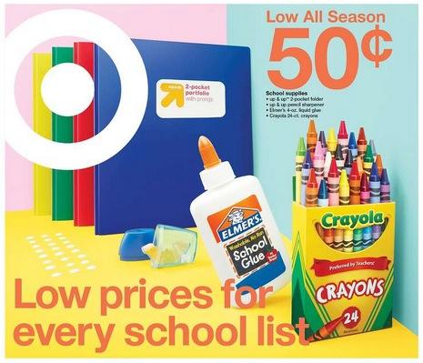 Target Back to School