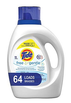 Tide Free and Gentle HE Laundry Detergent Liquid