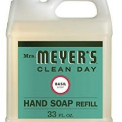 Mrs. Meyer's - Liquid Hand Soap Refill, Basil