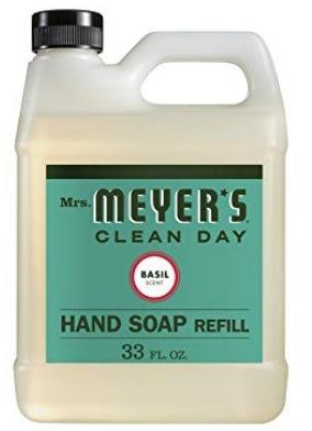 Mrs. Meyer's - Liquid Hand Soap Refill, Basil