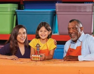 free home depot kids workshop project