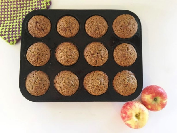 Delicious Breakfast Recipe for kids: Apple Butter Muffins
