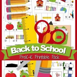 Free Back to School Printable Pack