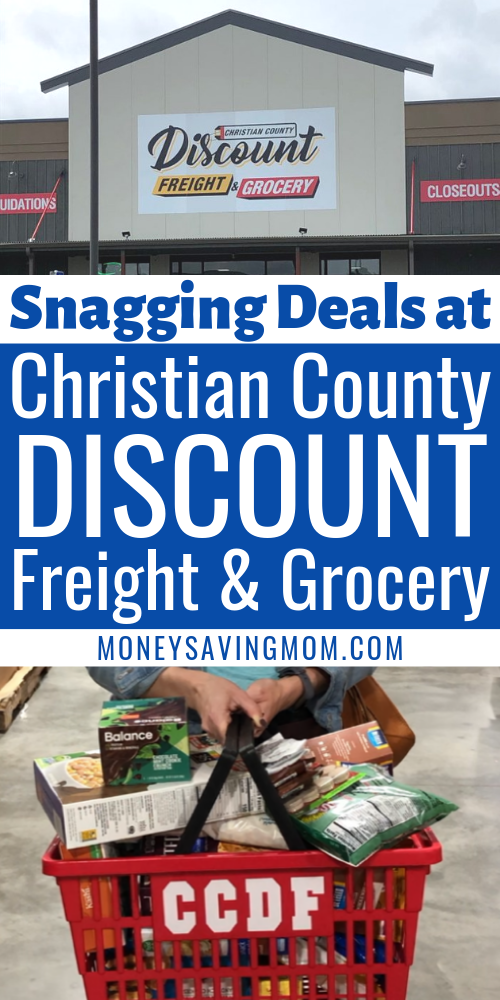 Deals at Christian County Discount Freight & Grocery