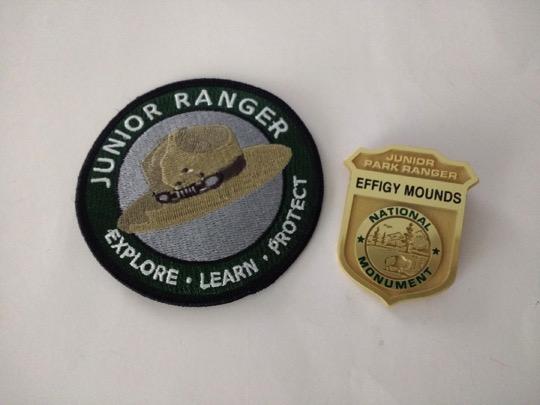 National Parks Junior Ranger Badge