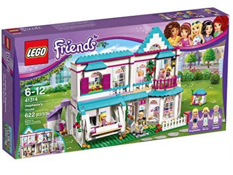LEGO Friends Stephanie's House Building Kit