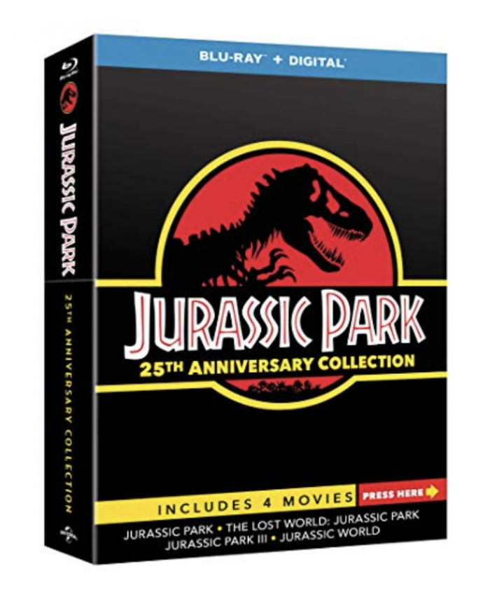 Jurassic Park Anniversary Blu-Ray Collection