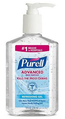 Purell Hand Sanitizer 8 oz