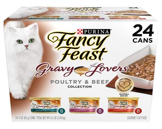 Purina Fancy Feast Gravy Wet Cat Food Variety Pack