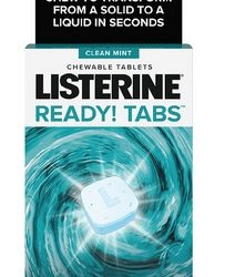 New $1/1 Listerine Coupon = Ready! Tabs as Low as 66¢ After CVS Rewards
