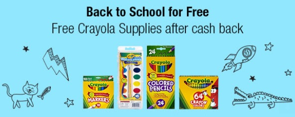 FREE Crayola School Supplies after rebate!!