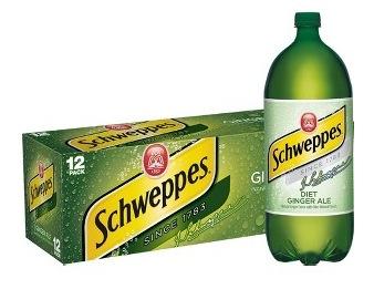 50% Off Schweppes Ginger Ale