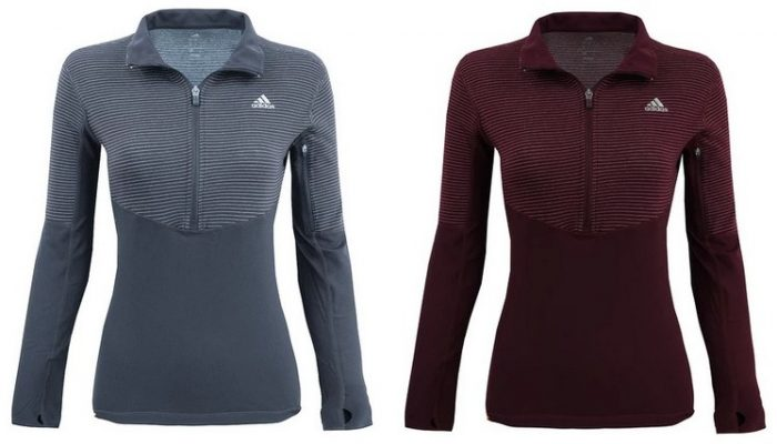 adidas Women's 1/2 Zip Lightweight Performance Jacket