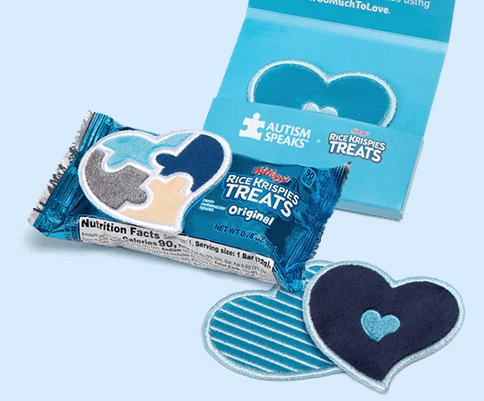 FREE Sensory Love Notes Stickers from Rice Krispies