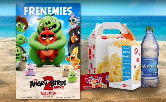 AMC Theaters: FREE KidsPack w/ Angry Birds 2 Ticket Purchase