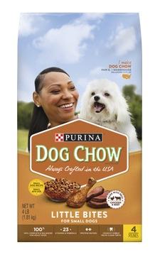 Purina Dog Chow 4 lb Bag