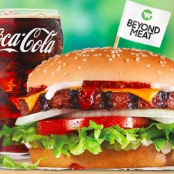 Free Beyond Famous Star Burger with Drink Purchase! (