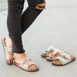 Glitter Fashion Sandals
