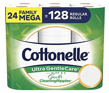 Cottonelle 24 Family MEGA Toilet Paper Rolls