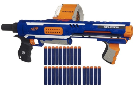 select Nerf toys