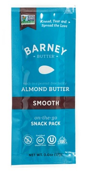 Free Barney Butter Almond Butter On-The-Go