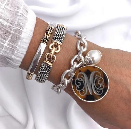 Monogram Tortoise Bracelets