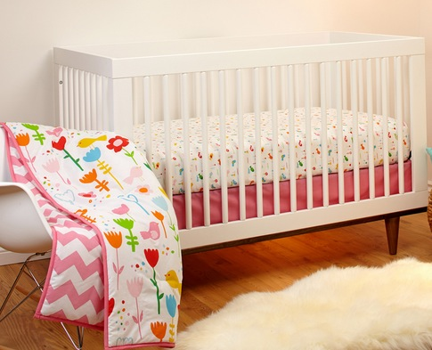 3-Piece Crib Bedding Sets