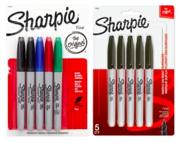 Office Depot | 5-Pack Sharpie Markers