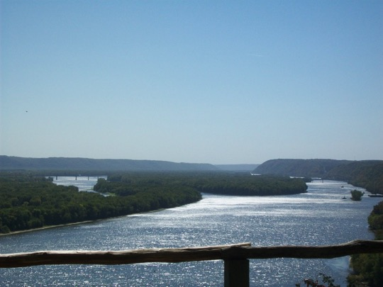 View from Effigy Mounds
