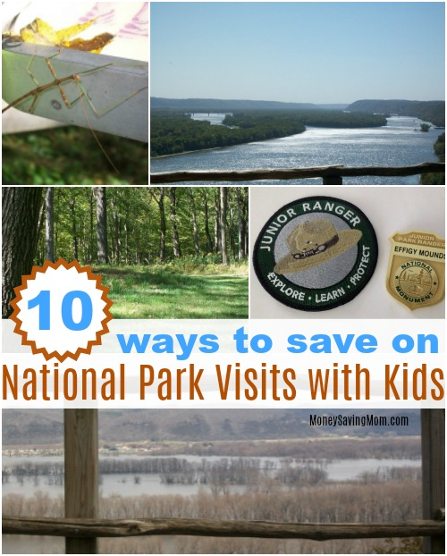 visiting National Parks with kids