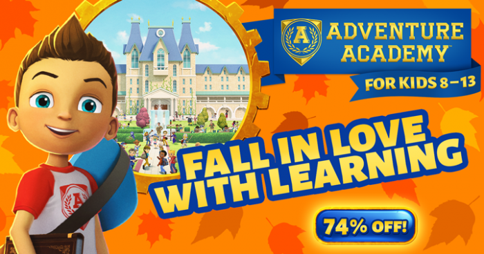 Adventure Academy Fall Deal