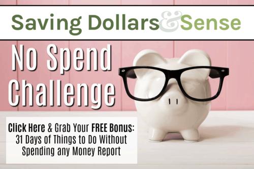 Free No Spend Challenge