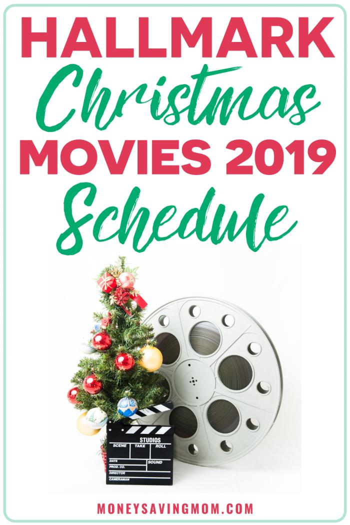 Hallmark Christmas Movies Schedule