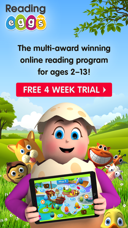Reading Eggs App Trial