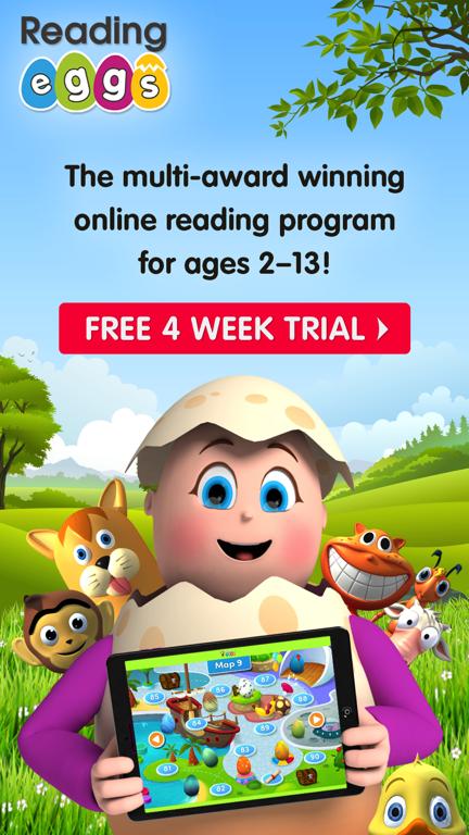 Reading Eggs App Trial