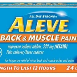 Aleve Back & Pain Relief $.76