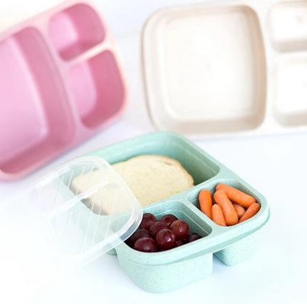 Wheat Straw Lunchbox Organizer