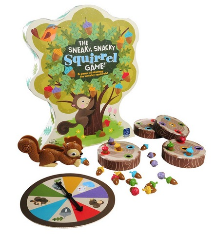 The Sneaky, Snacky Squirrel Toddler & Preschool Board Game